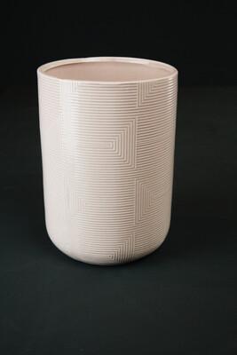 Vase   Rosa   Zylinder