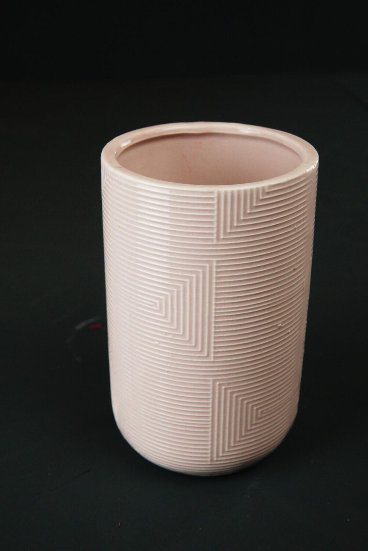 Vase | Rosa | Zylinder