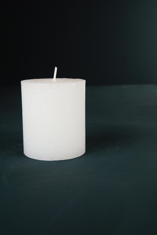 Weiß | 8x7 cm