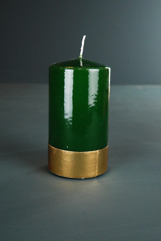 Grün Gold | 15x7 cm