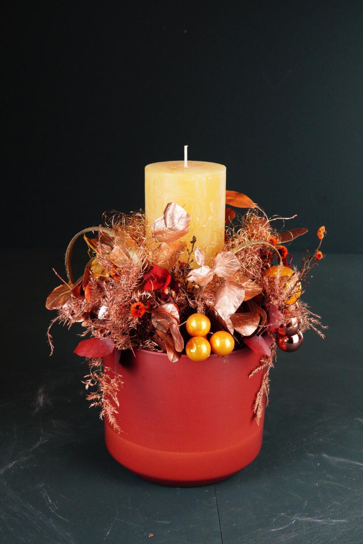 Kerze | Orange