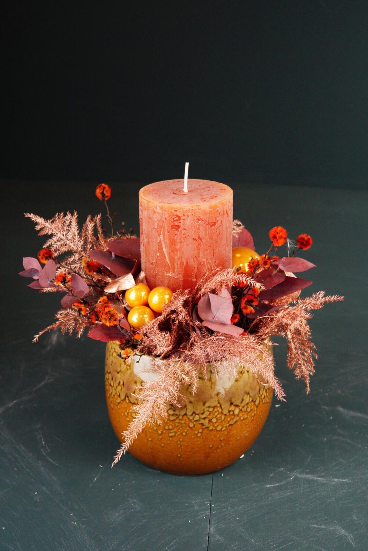 Kerze | Orange | Mini