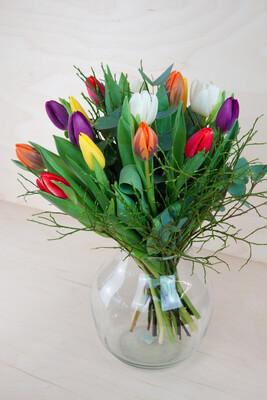 Tulipa | Bunter Tulpenstrauß