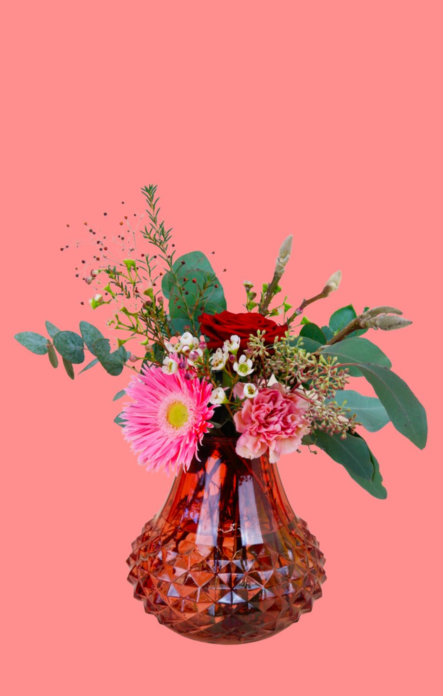 Hey Babe | inkl. Vase | Medium