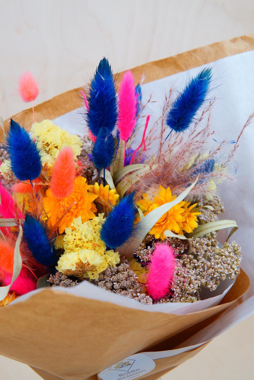 Trockenblumen-Strauß | Bunt