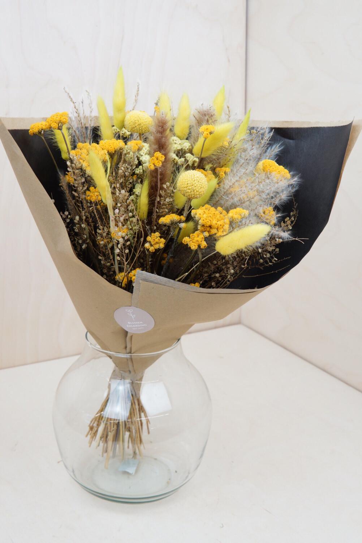 Trockenblumen-Strauß | Gelb