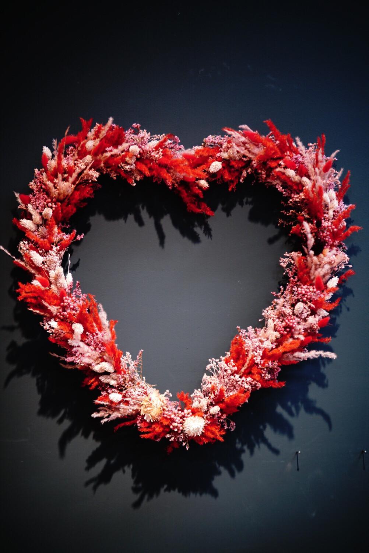 Herz   Grande   Rot & Rosa