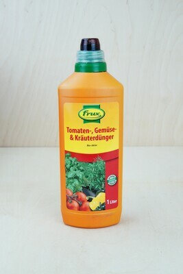 Dünger   Gemüse, Tomate, Kräuter   BIO   Frux   1L