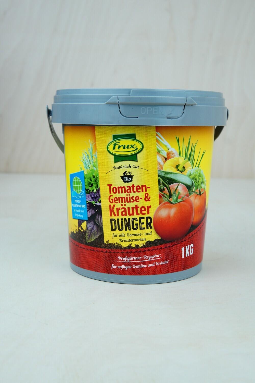 Dünger | Tomate & Gemüse & Kräuter | Frux | 1KG