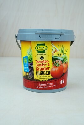 Dünger   Tomate & Gemüse & Kräuter   Frux   1KG