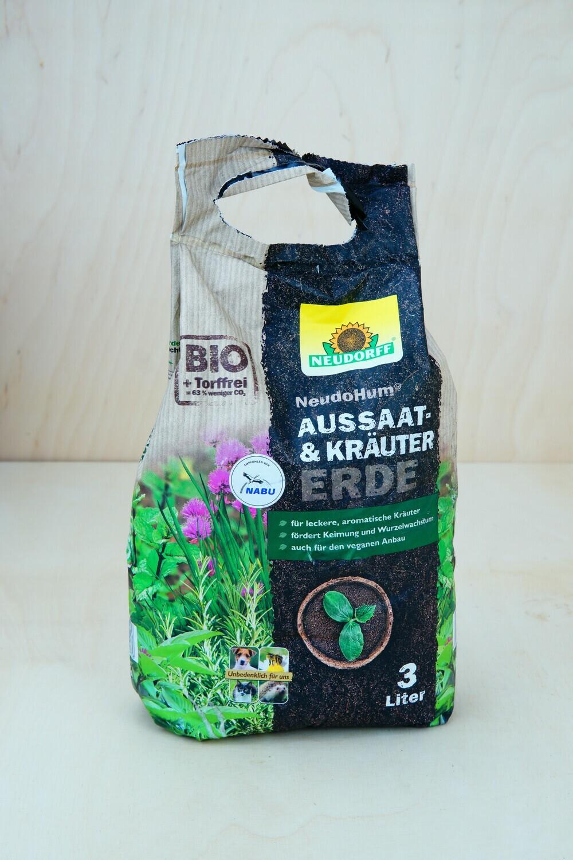 Erde   Aussaat & Kräuter   BIO   Neudorff   3L
