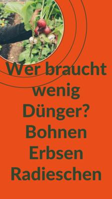 Schwach-Zehrendes Gemüse