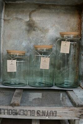 Glas mit Kork-Deckel | Grande