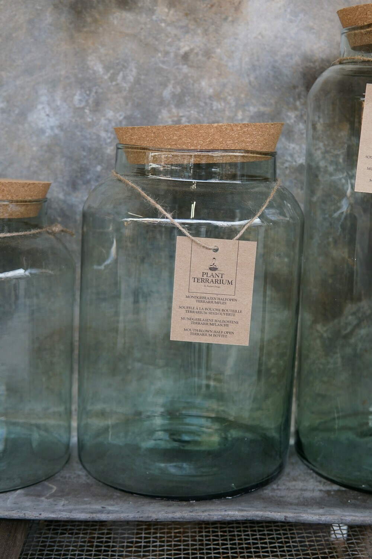 Glas mit Kork-Deckel | Medium