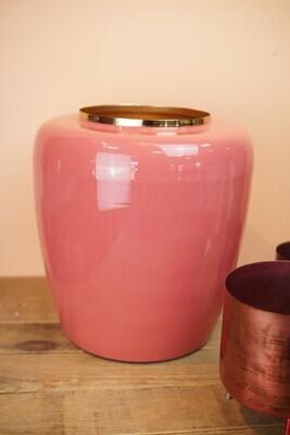 Vase | Rosa & Gold