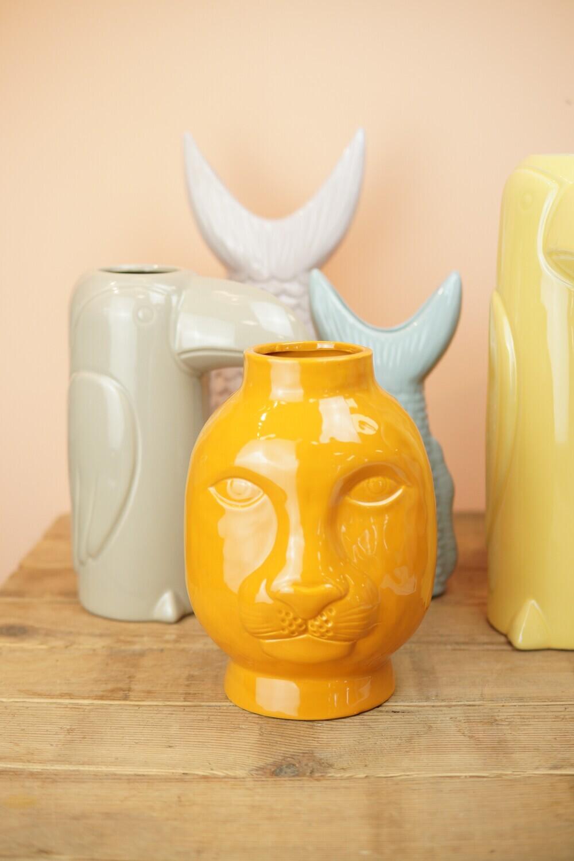 Vase | Leo | Orange