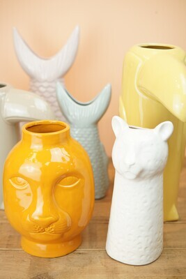 Vase | Leo | Weiß