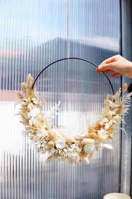 Dried Flower Loop-Workshop | 12. Dezember