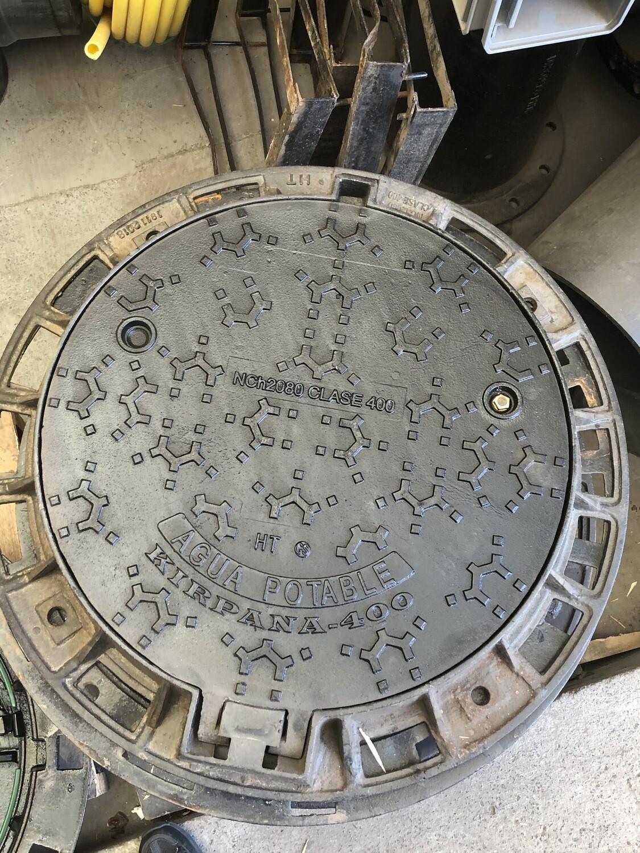 Tapa Fe Dúctil Clase D-400 Circular