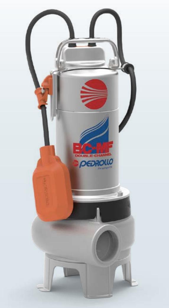 Electrobomba Sumergible Para Aguas Negras Línea BC