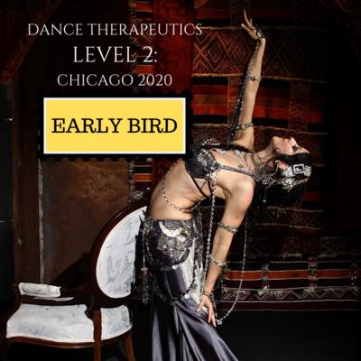 Dance Therapeutics Level 2: CHICAGO 2020  EARLY BIRD