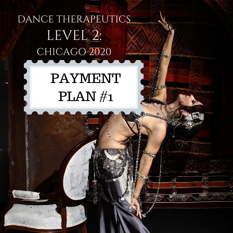 Dance Therapeutics Level 2: Payment Plan installment #1