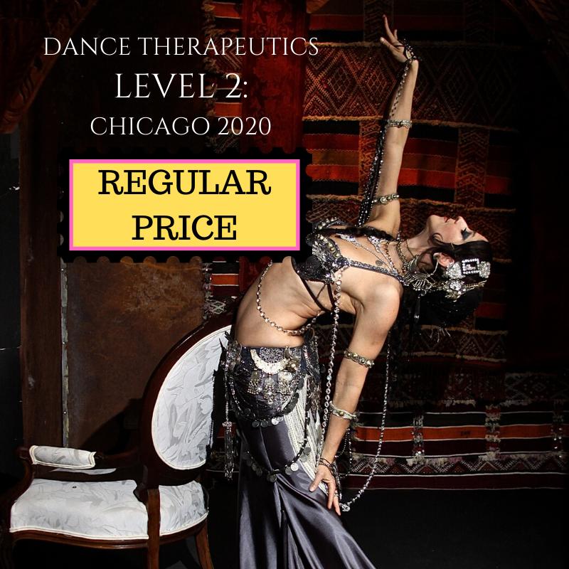 Dance Therapeutics Level 2: REGULAR PRICE SEAT
