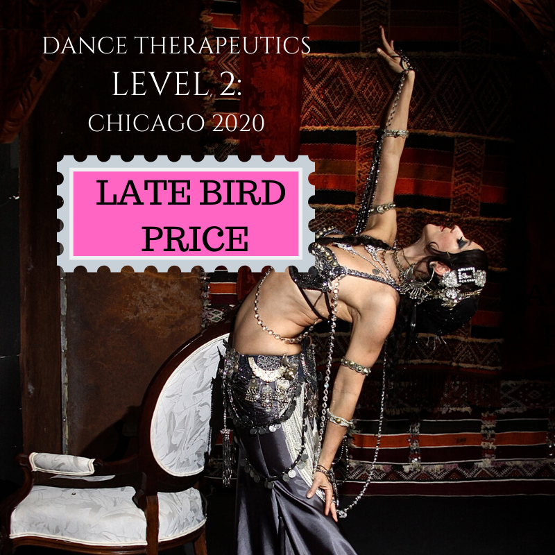 Dance Therapeutics Level 2: LATE BIRD Pricing.  You can still join us!