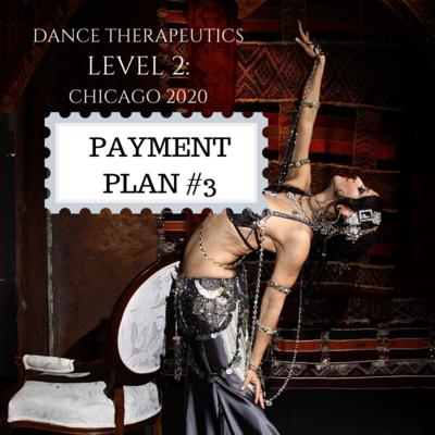 Dance Therapeutics Level 2: PAYMENT PLAN Installment #3