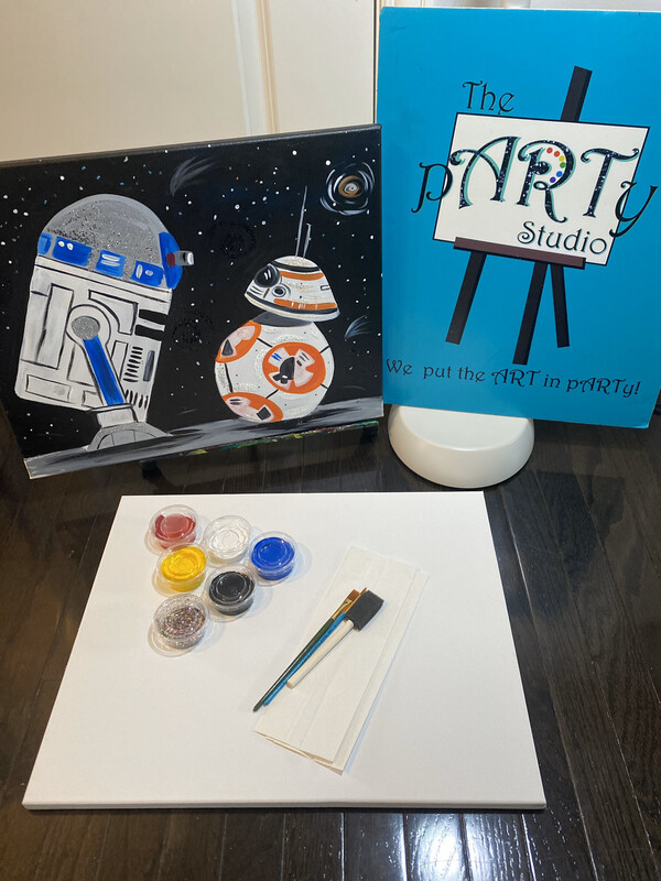 StarWars 16x20 Canvas & Paint