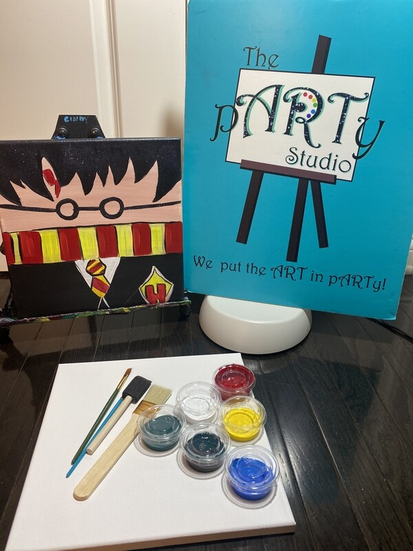 Harry Potter 12x12 Canvas & Paint Kit