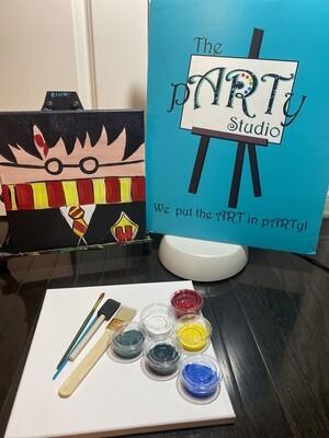Harry Potter 12x12 Canvas & Paint Kit