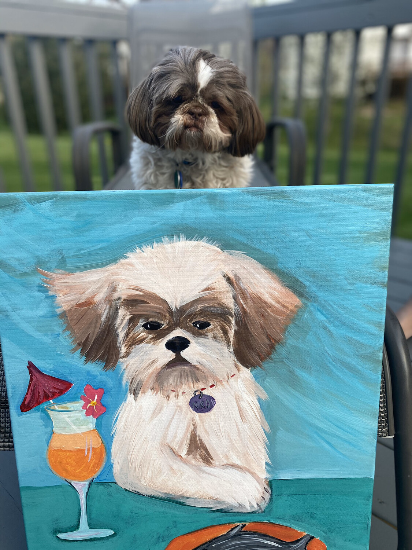 PAINT YOUR PET • At Home Art Kit 16x20