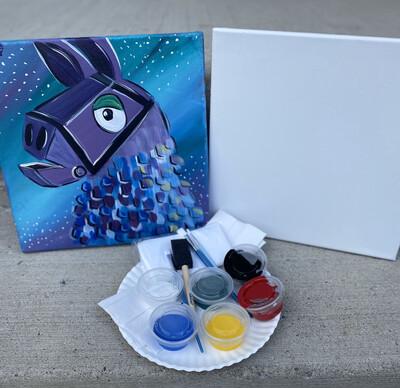 Fortnite Llama • At Home Art Kit 12x12