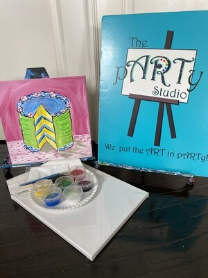Piece of Cake  At Home Art Kit 12x12