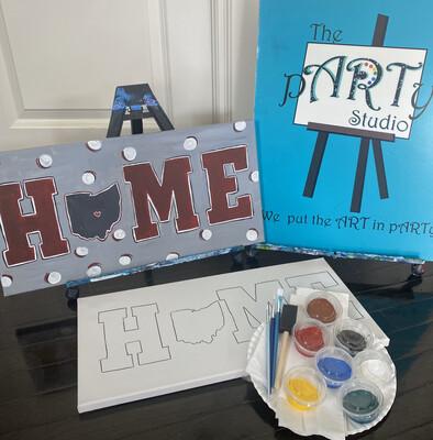 HOME • Paint pARTy Art Kit 10x20