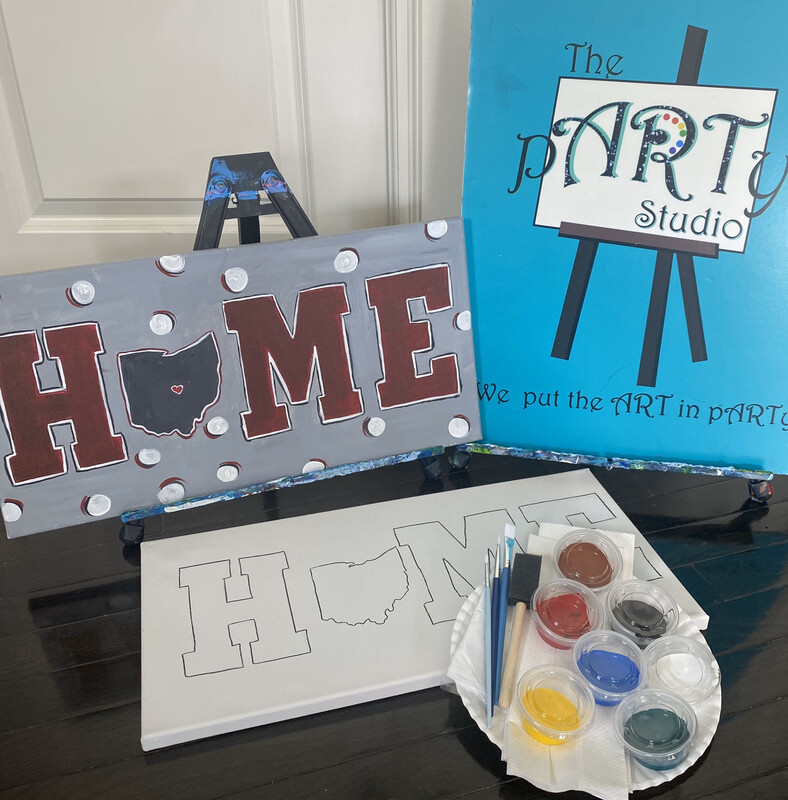 HOME • Paint pARTy Art Kit 10x20