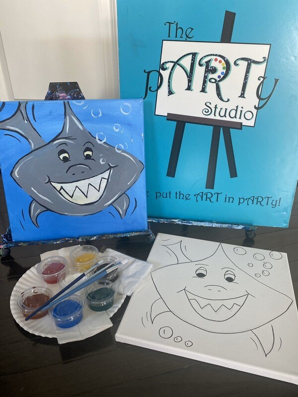SHARK • At Home Art Kit 12x12