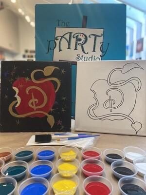 Descendants Apple 'At Home Art Kit' 12x12 Canvas