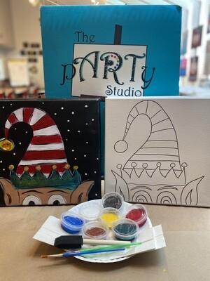 Elf  'At Home Art Kit' 12x12 Canvas