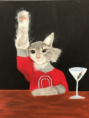 9/24/2020  6:30pm - 9:30pm Paint Your Pet Night @ The pARTY Studio  (send images by 9/16 - NO COUPONS / NO DISCOUNTS ACCEPTED)