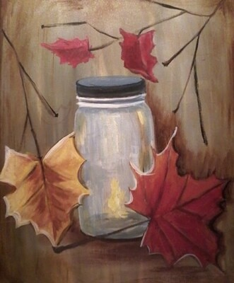 9/30/2020  6:00pm - 8:30pm 'Fall Leaf' Paint Night @ Dolphin Lounge 345 Agler Road Gahanna, Ohio 43230 (NO COUPONS / NO DISCOUNTS)