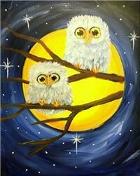 10/30/2020  6:30pm - 9:30pm Night Owls Paint Night @ The pARTy Studio