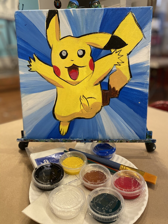 Pikachu ~ At Home Art Kit 12x12