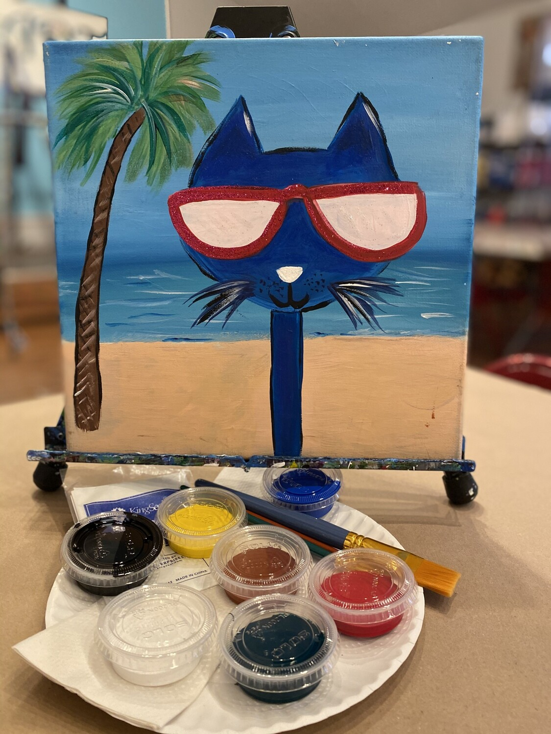 Kool Kat - At Home Art Kit 12x12