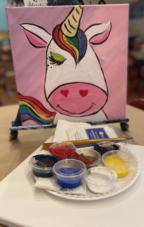 Magical Unicorn - At Home Art Kit 12x12