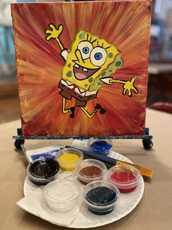 Spongebob - At Home Art Kit 12x12