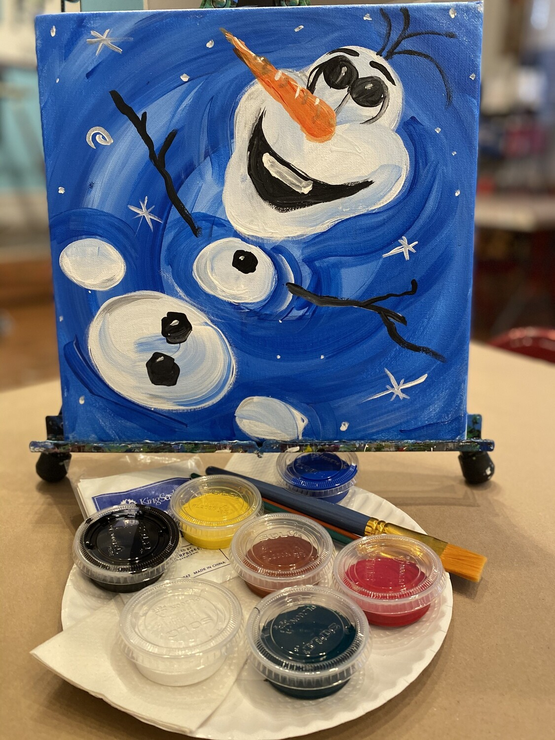 Olaf - At Home Art Kit 12x12