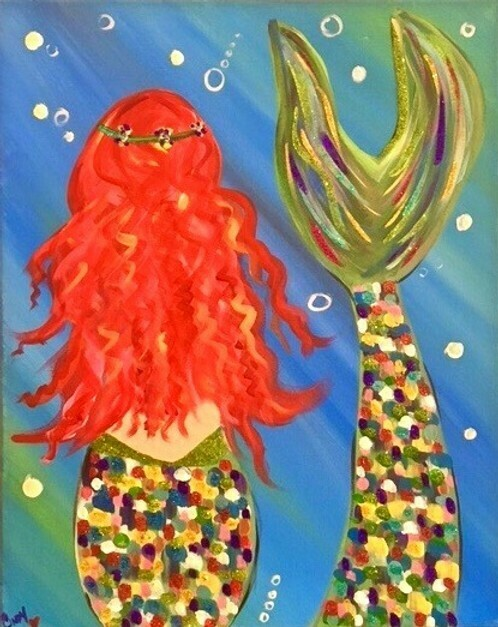 3/7/2021 2:00pm - 4:00pm  Family Fun Paint pARTy -