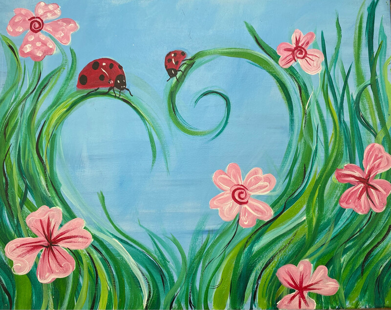3/14/2021  12:00pm - 2:00pm Family Fun Paint pARTy